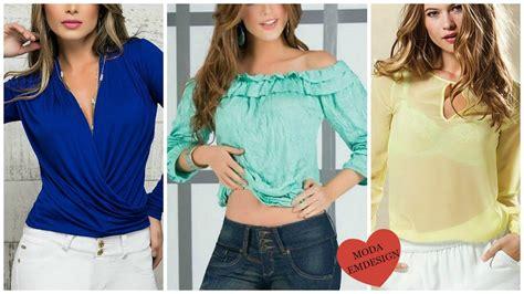 blusas de moda 2016 moda juvenil 2016 youtube blusas de moda 2016 blusas 2016 youtube