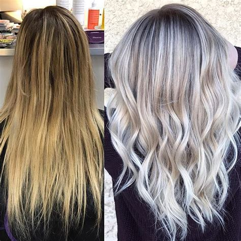 creating roots on blonde hair 78 ideas about white blonde highlights on pinterest