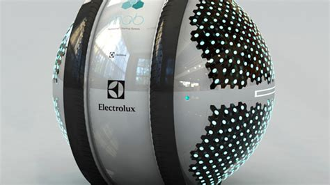 electrolux design contest mab robots housecleaning innovation futuristic mab sphere spits out flying robots to clean