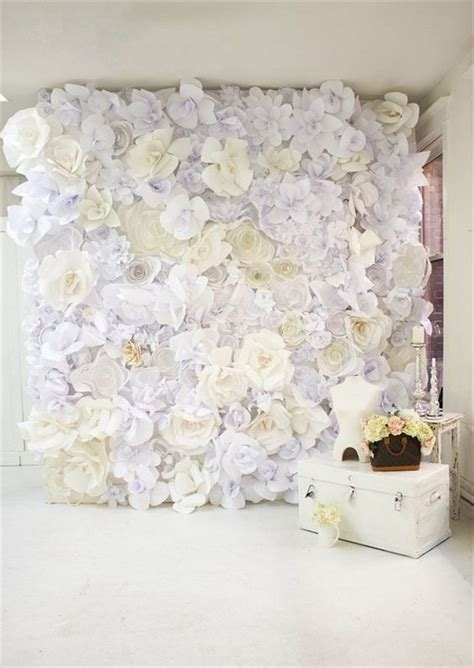 tutorial paper flower backdrop 64 budget friendly photo booth backdrop ideas and