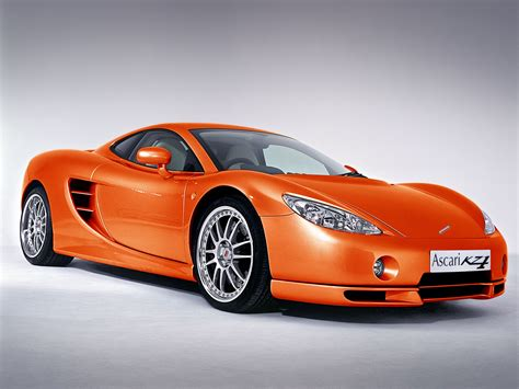 orange cars ascari pictures wallpapers pics photos quality images