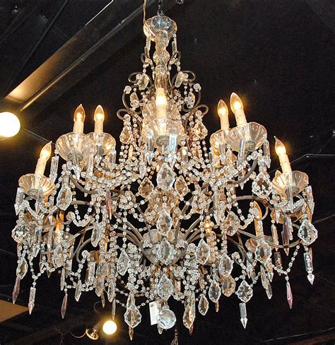 Crystals For Chandeliers Chandelier For Sale Antiques Classifieds