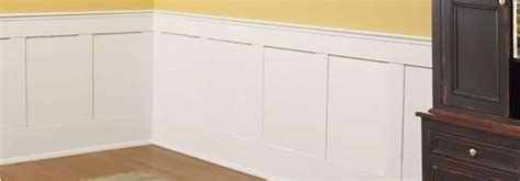 Prefab Wainscoting by Flat Panel Wainscot Paneling Wainscotting