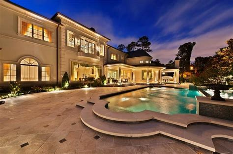 luxury houston texas mansion for sale by absolute auction bayou woods glamour home in houston texas for sale
