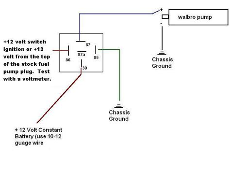 bosch fuel relay diagram bosch free engine image