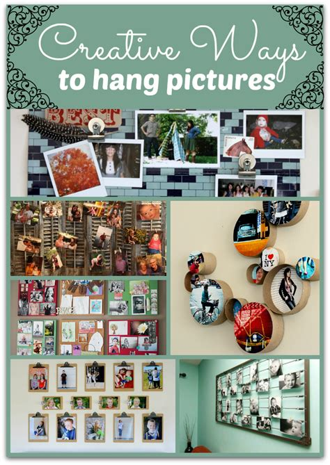 ways to hang pictures creative ways to hang pictures without frames creative