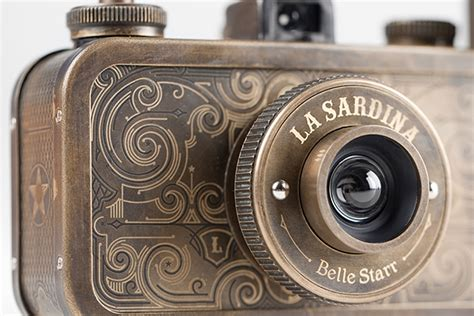 la sardina camera la sardina western metal camera the awesomer