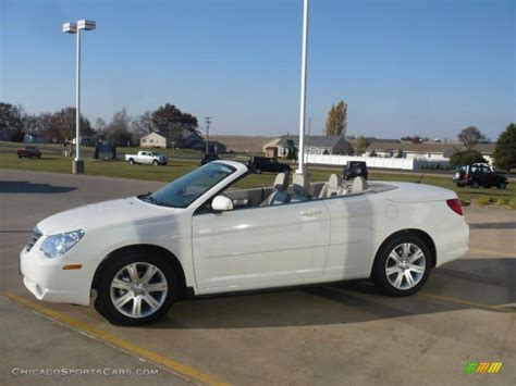 2010 Chrysler Sebring Convertible For Sale by 2010 Chrysler Sebring Touring Convertible In White