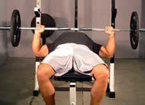 wide grip bench training the detail muscles with isolation exercises to