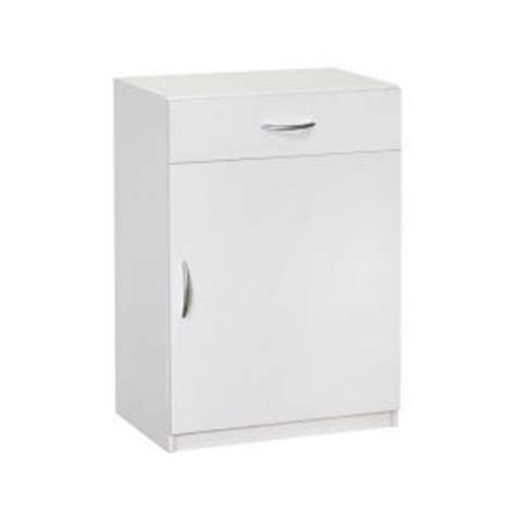 Closetmaid Cabinets White Closetmaid 34 75 In H X 24 In W X 15 25 In D White