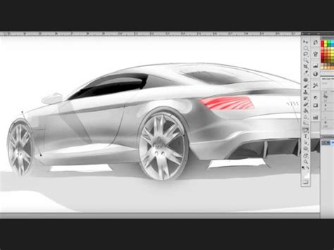 tutorial design car concept car digital sketching tutorial car body design