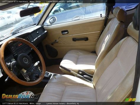 datsun b210 interior beige interior 1977 datsun b210 hatchback photo 7
