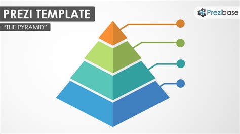 Infographic Diagram Prezi Templates Prezibase Hierarchy Pyramid Template