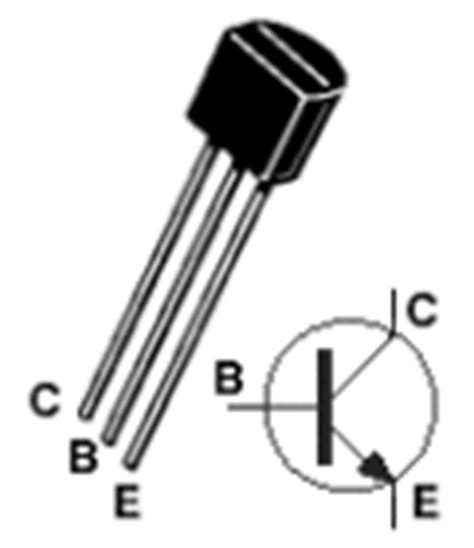 transistor npn 2222a transistor activated objects