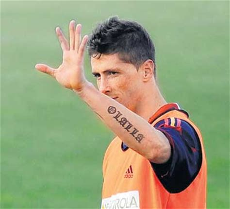 torres tattoo fernando torres tattoos