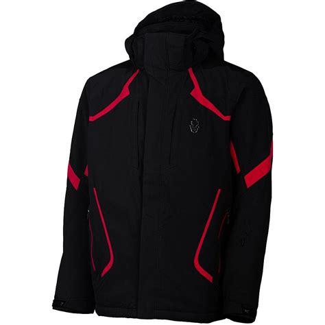 Mens Insulated Ski Jacket spyder leader insulated ski jacket s glenn
