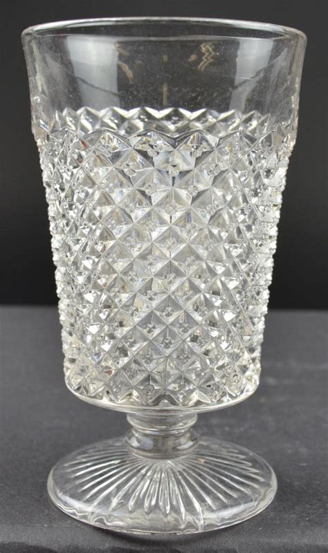 English Hobnail Pattern | westmoreland glass english hobnail footed juice glass