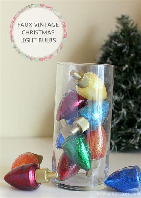 sparkle light christmas glasses diy glitter filled vintage glass light bulbs from bath and works wallflower