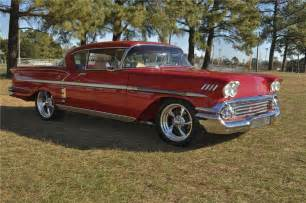 1958 chevrolet impala custom 2 door coupe 96347