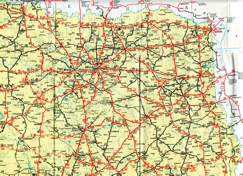 road map of texas highway maps of texas