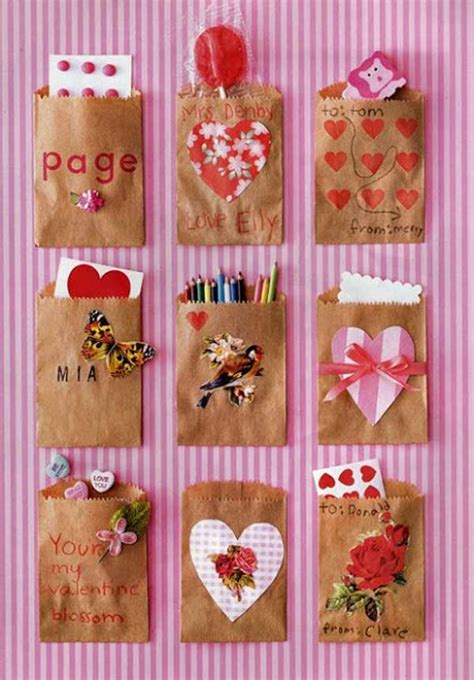 Paper Craft Ideas For Valentines Day - 30 and easy diy valentines day crafts can make