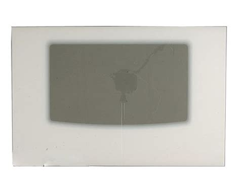 glass for oven door frigidaire glgf389gse outer oven door glass white