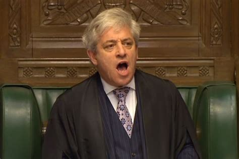 Speaker Of The House In by Commons Speaker Bercow Joins Battle Between Mps And