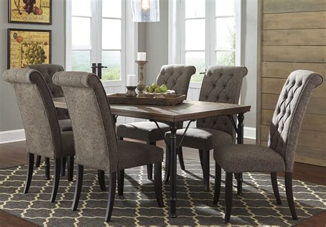 tripton rectangular dining room table d530 25 tables tripton rectangular dining room set from ashley d530 25