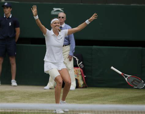Petras Lopsided by Kvitova Cruises To Wimbledon Title Centralmaine