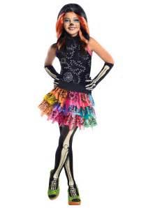 halloween monster high costumes monster high skelita calaveras child costume