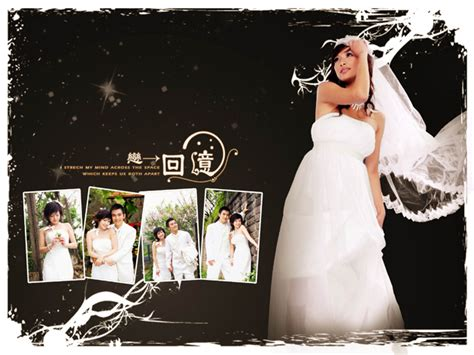 5 background psd wedding album design images free