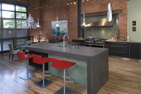 Sink Island Kitchen by Concrete Revolution Kitchen Design Portfolio