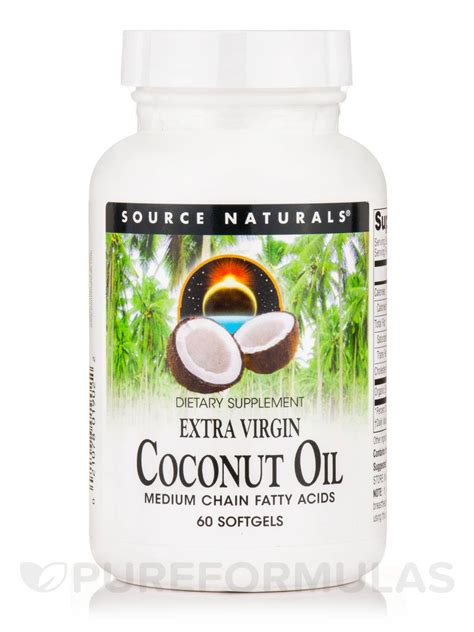 Coconut Oil Americas Best Source For Buying Coconut Oil | extra virgin coconut oil 60 softgels