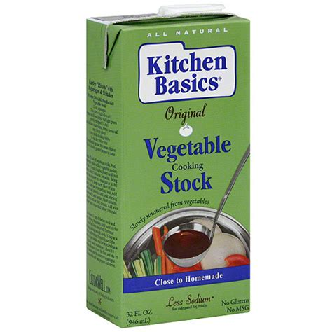 Kitchen Basics Vegetable Stock by Kitchen Basics Vegetable Cooking Stock 32 Oz Pack Of 12