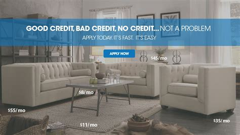 home furniture financing with bad credit 28 images