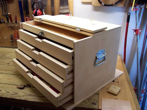 build tool chest  woodworking
