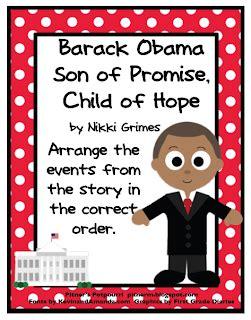 barack obama biography 3rd grade pitner s potpourri barack obama freebie