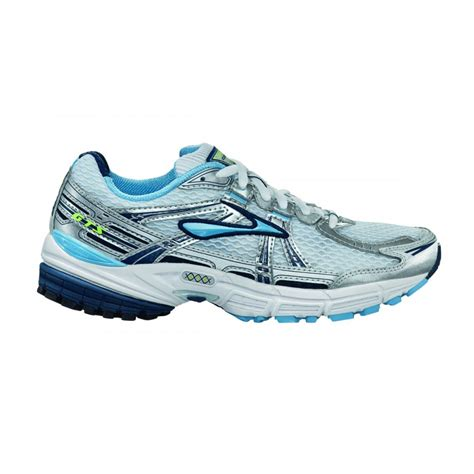 running shoes gts adrenaline gts 11 road running shoes white blue womens at