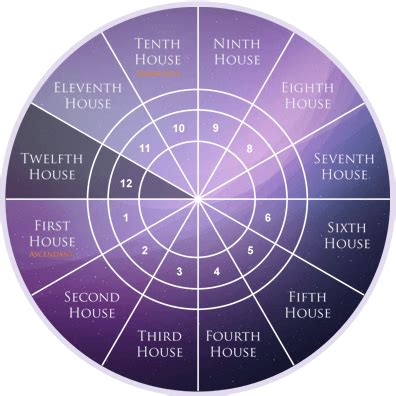 12th house astrology 12 astrology houses planets in houses
