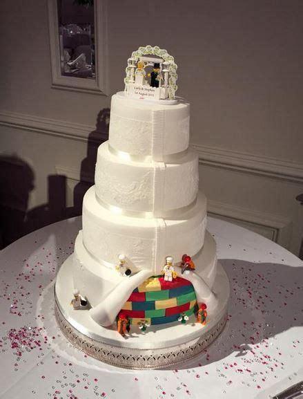 Hochzeitstorte Lego by 25 B 228 Sta Lego Wedding Cakes Id 233 Erna P 229 Kakor