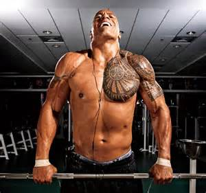 Dwayne johnson workout for pain amp gain workout ace