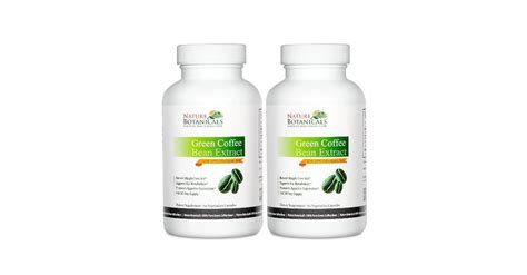 Green Coffee Bean Extract Dietary Supplement