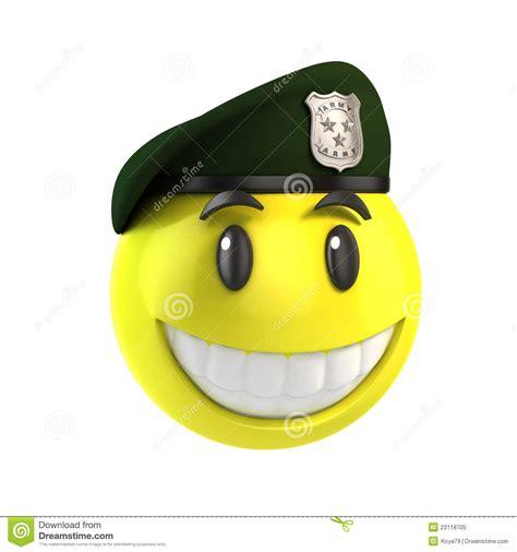Smile Cap smiley solider royalty vrije stock foto afbeelding 23118705