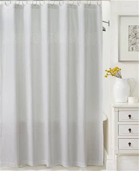 Martha Stewart Shower Curtains by Closeout Martha Stewart Collection Colette Shower Curtain