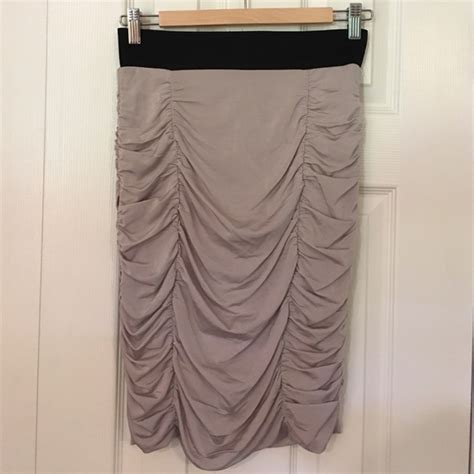 70 h m dresses skirts h m ruched pencil skirt