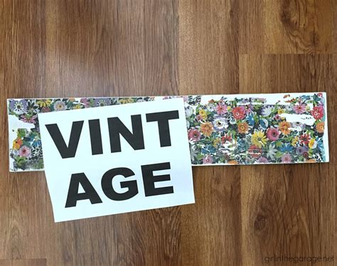 Decoupage Signs - upcycled decoupage sign colorful mantel in