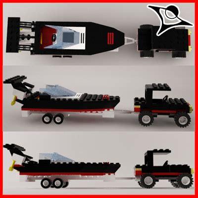 lego boat car 3d lego car boat