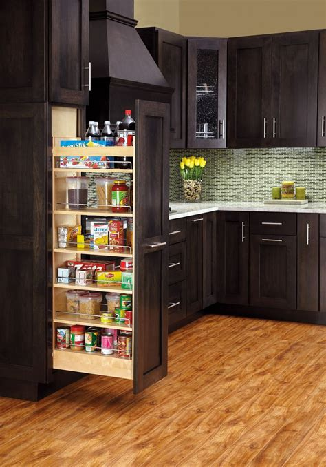 Kitchen Pantry Accessories by Rev A Shelf Wood Pantry W Slide For The Home