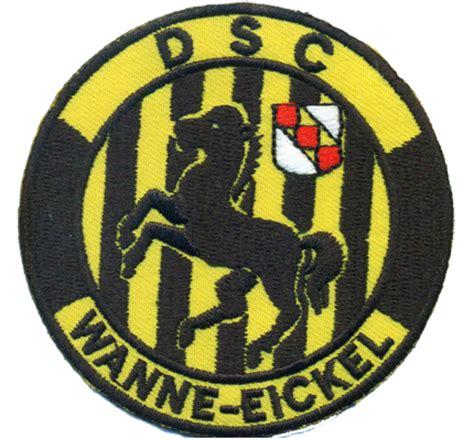 dsc wanne eickel dsc wanne eickel fanclub sportverein trikot fahne patch