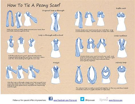 how to tie a scarf lilyrosa uk